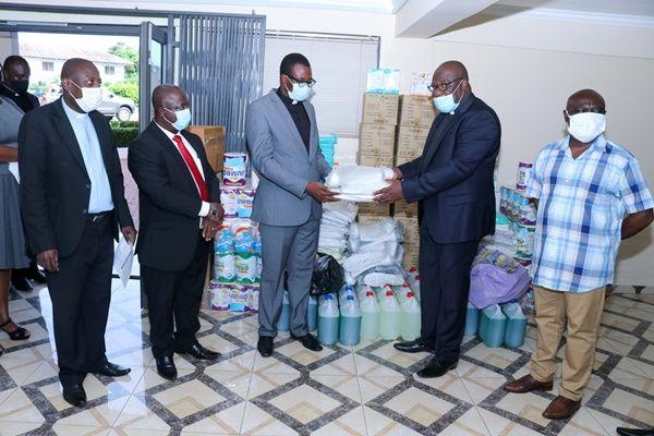 Presbyterian Church of Ghana Donates PPEs To Donkokrom And Bawku Hospitals