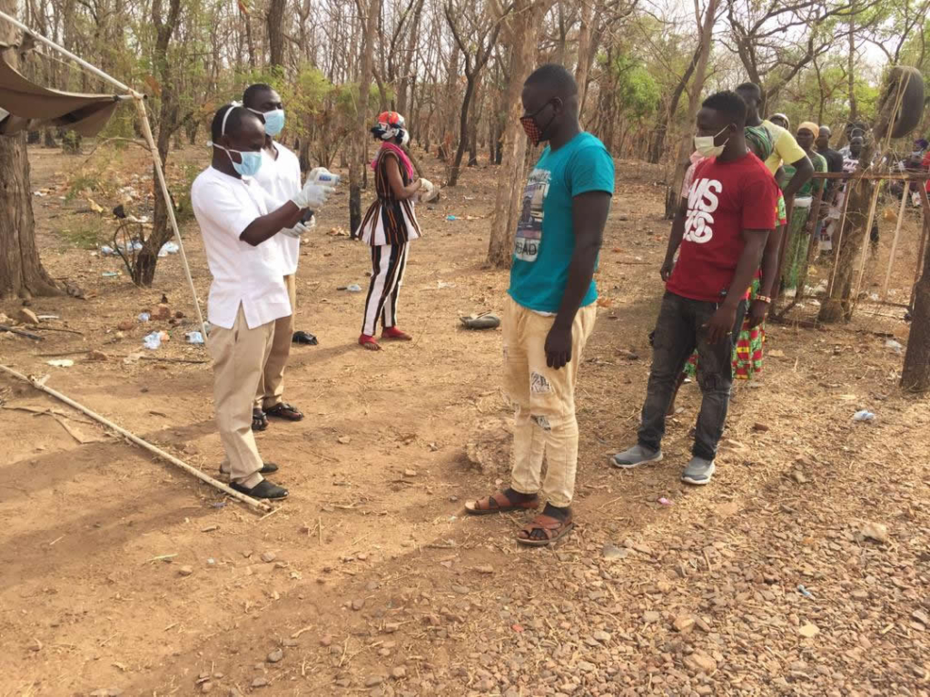 How Bawku Youth Parliament initiative got suspected Covid-19 patient to self-isolate